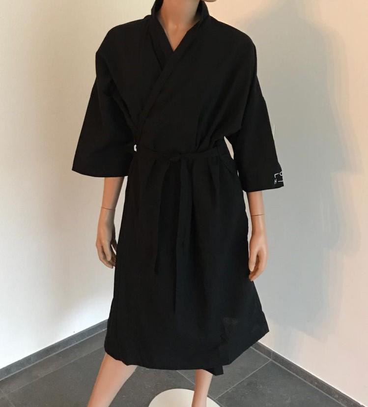 Badjas Kimono in poly-katoen mix