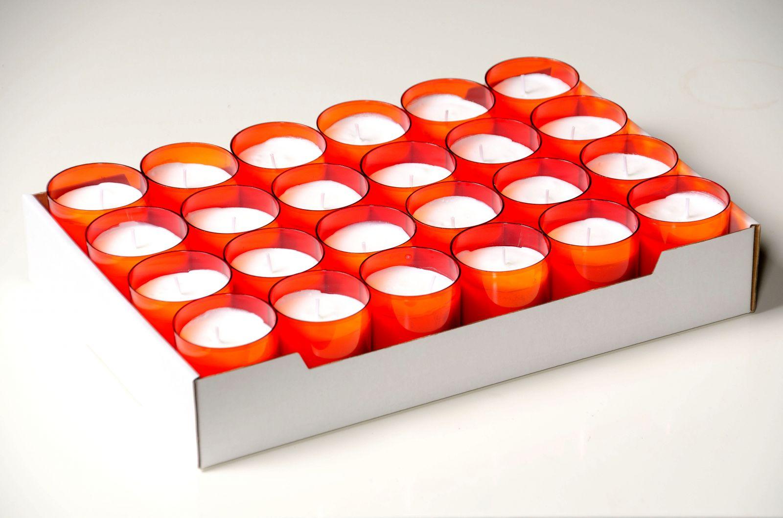 Kaarsen refills 24-uurs